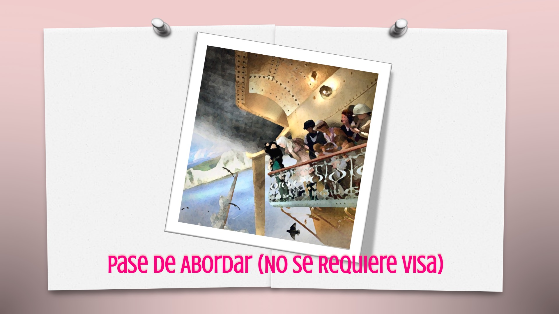 Pase de Abordar (No Se Requiere Visa)